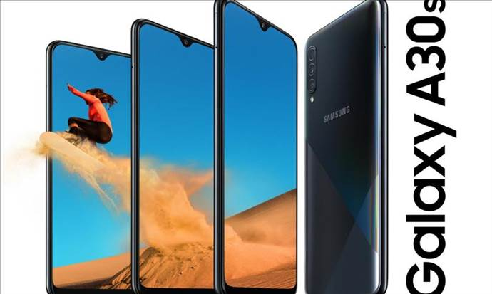 Samsung Galaxy A30s Türkiye'de satışa sunuldu