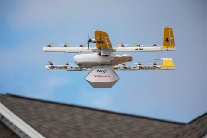 Google drone ile sipariş teslim etmeye başladı