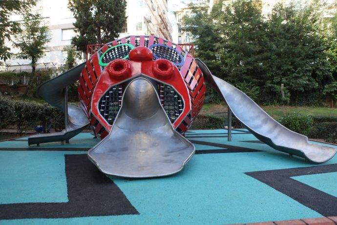 Nişantaşı Sanat Parkı'nda Gorgon Oyun Alanı açıldı