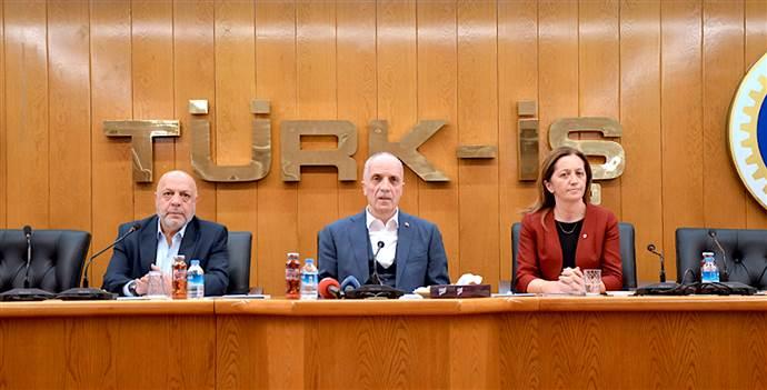 TÜRK-İŞ, HAK-İŞ ve DİSK'ten ortak vergi isyanı