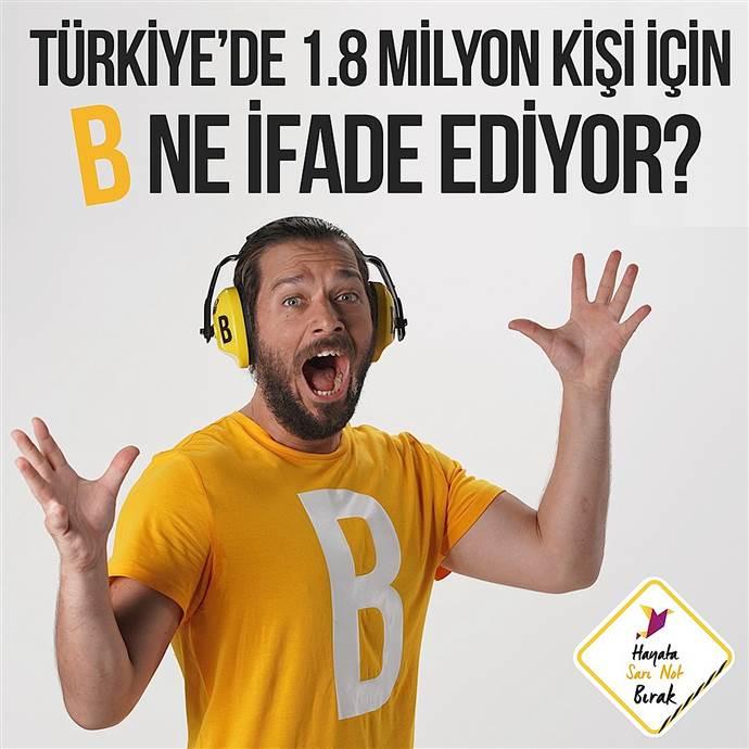 Size göre 1.8 milyon kişi için B harfi ne ifade ediyor?