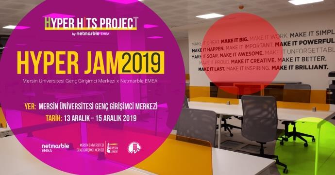 Hyper-casual oyun geliştirme maratonu Hyper Jam Mersin'de