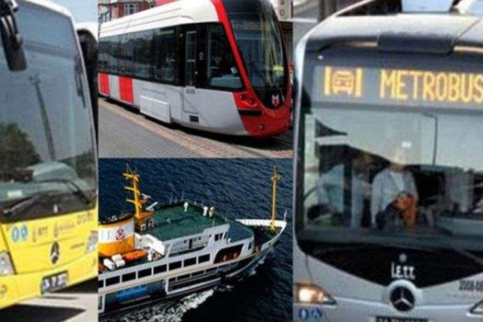 İstanbul'da Kurban Bayramında toplu taşıma araçları ücretsiz