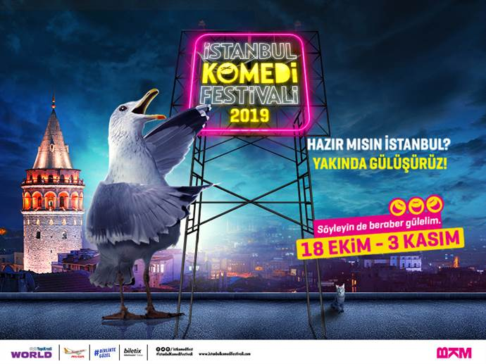 İstanbul Komedi Festivali'nden kahkaha dolu seçenekler