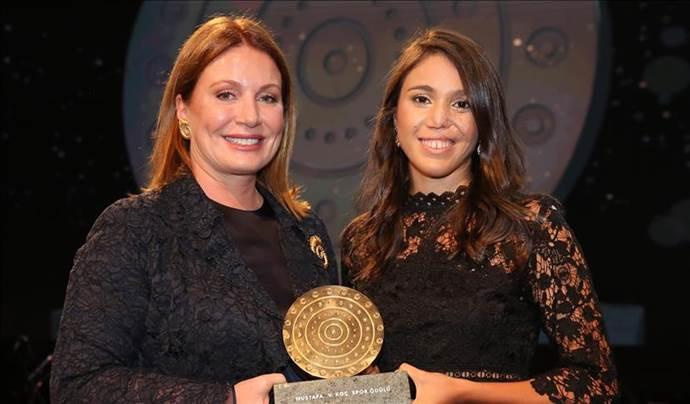 Mustafa V. Koç Spor Ödülü İlke Özyüksel'e verildi