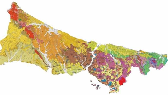 İşte İstanbul'un deprem riski haritası