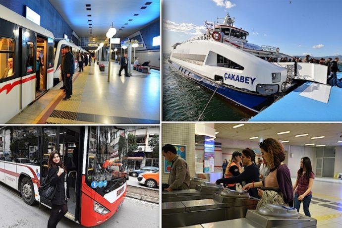 İzmir'de bayram sürecince tüm toplu taşıma araçları ücretsiz