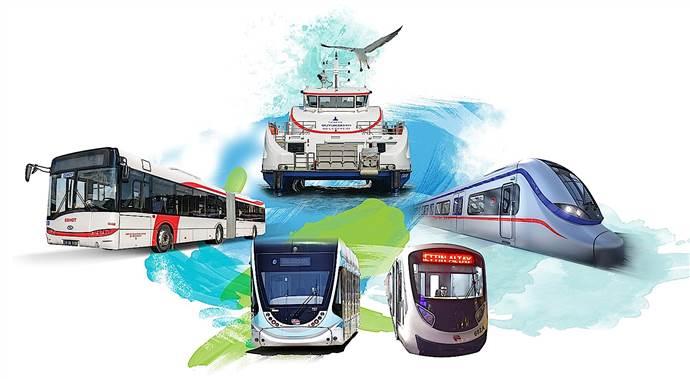İzmir'de ulaşıma İzmir Enternasyonal Fuarı ayarı