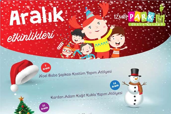 İzmir Park Çocuk Kulübü çocuklar için yeni yıl etkinlikleri