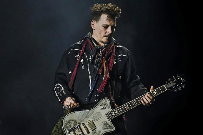 Johnny Depp, Hollywood Vampires grubu ile Türkiye'ye geliyor