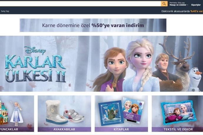 Amazon.com.tr'de 'Karlar Ülkesi 2' ürünlerinde yarı yarıya indirim