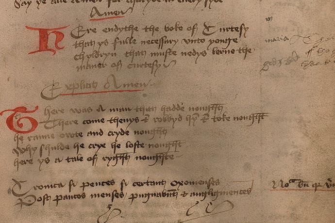 500 yıl önce çocuklara nezaket dersleri veren görgü kitabı