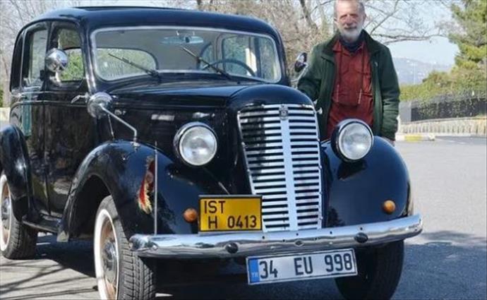 Rüyalarının klasik otomobili ilk günkü gibi duruyor