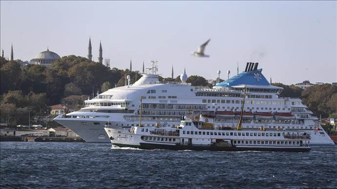 kruvaziyer turizmi İstanbul'da yeniden canlanıyor