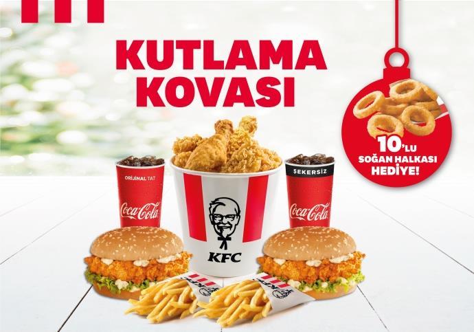 KFC'den yılbaşına özel kutlama kovası