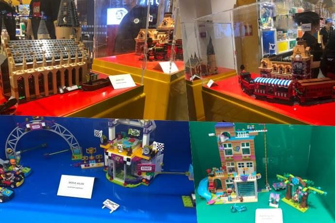Lego müşterileri şaheserlerini mağazalarda sergiliyor
