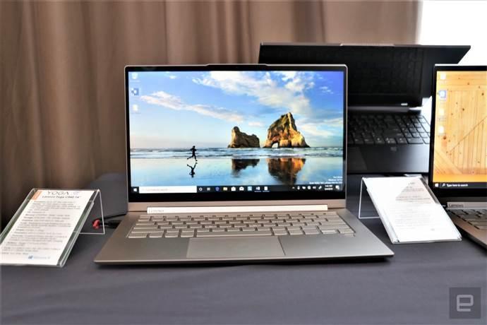 Lenovo'dan yapay zeka destekli Yoga Laptop