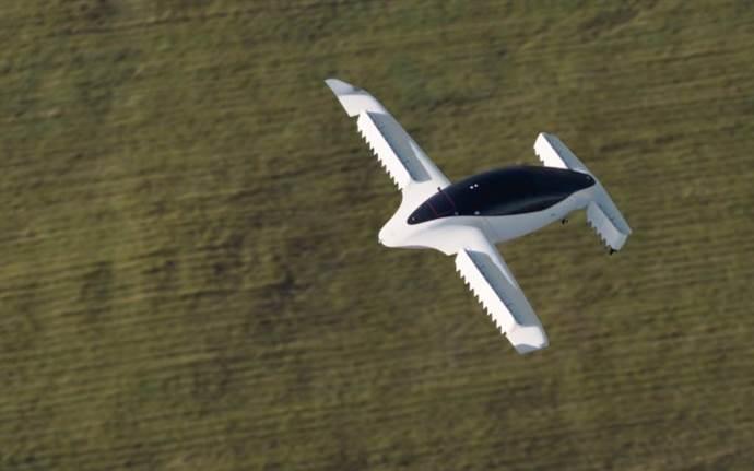 Uçan taksilerin testleri başladı