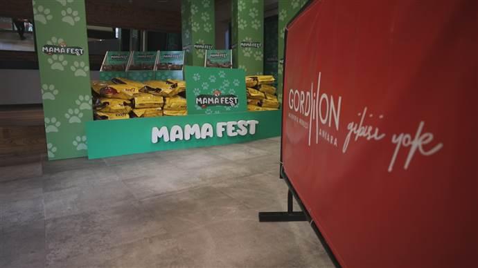 Gordion AVM'nin MamaFest'inde 1 ton mama bağışlandı
