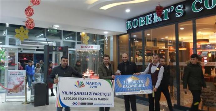 Mardin AVM'den müşterilere 4. yıl sürprizi