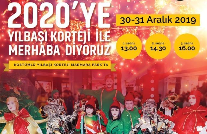 Marmara Park AVM'de eğlence dolu yılbaşı sürprizleri