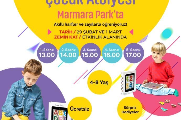 Marmara Park'ta Mart ayı etkinlikleri