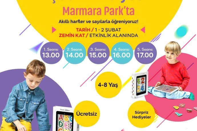 Çocuklar Marmara Park'ta Marbotik ile buluşacak