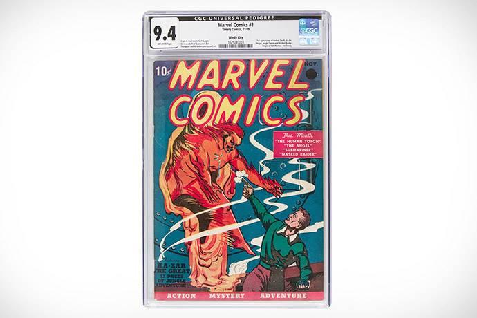 Marvel'ın ilk çizgi romanı rekor fiyata satıldı