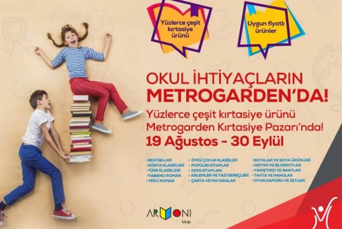 Metrogarden AVM'den Okula dönüş kampanyası