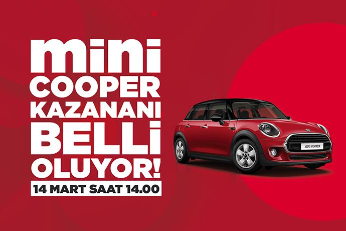 Esas 67 Burda AVM'de Mini Cooper sahibini buluyor