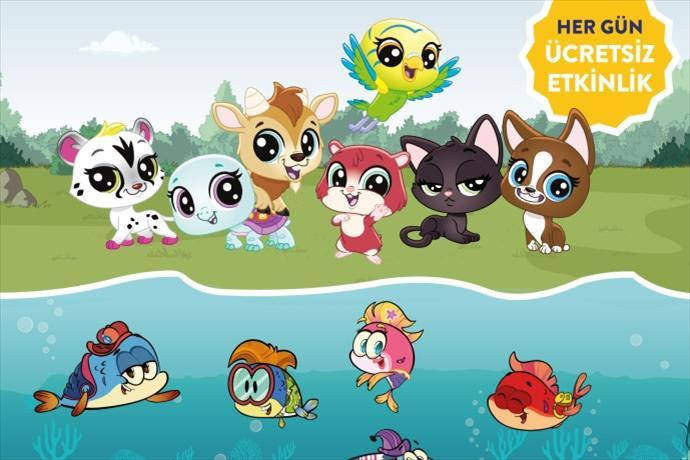 Minika'nın en sevilen karakterleri Ege Perla Çocuk Kulübü'nde