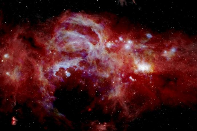 NASA Samanyolu Galaksisi'nin merkezini görüntüledi!