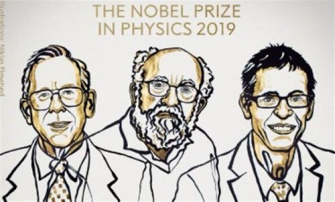2019 Nobel Fizik Ödülünün sahibi açıklandı