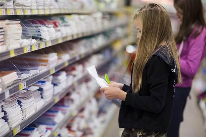 Okul malzemeleri harcama alışkanlıkları araştırıldı