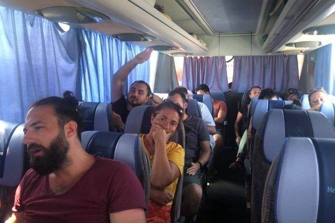 Otobüs yolcularının bayram azabı