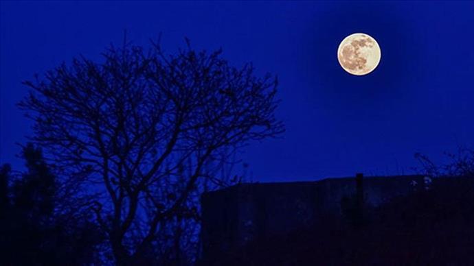 Parçalı ay tutulması Türkiye'den de gözlemlendi
