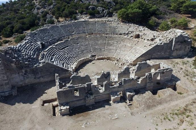 Patara ve Xanthos antik kentleri 2019'un ilgi odağı oldu