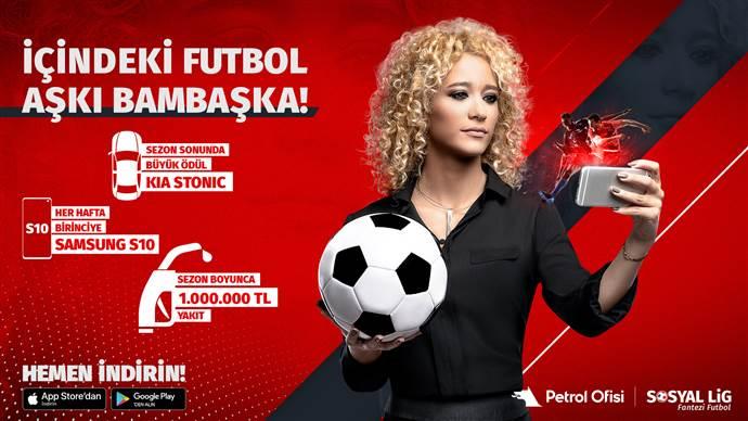 Otomobil ödüllü Petrol Ofisi Sosyal Lig, 2019-2020 sezonu başladı