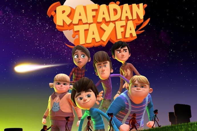 Rafadan Tayfa karakterleri Axis AVM'de çocuklarla buluşuyor