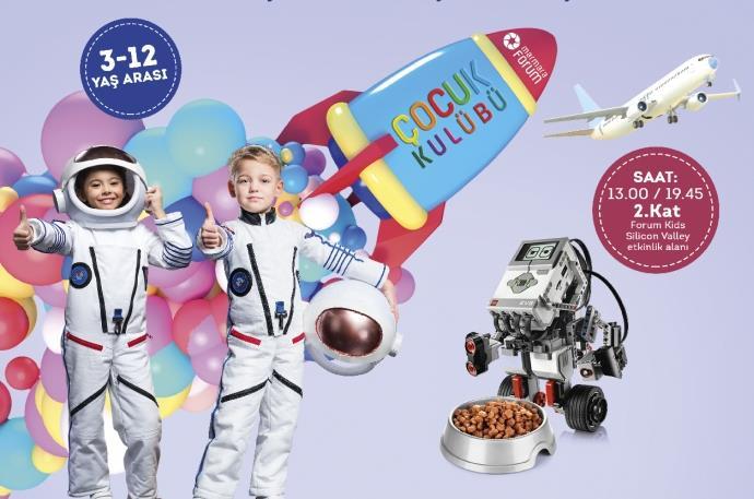Marmara Forum'dan yarı yıl tatilinde 'Robotik Dünyalar Festivali'