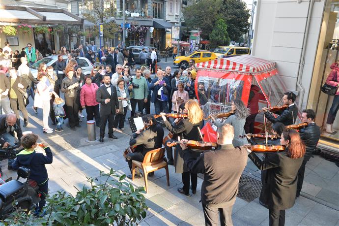 Şişli'de Cumhuriyet Bayramı kutlamaları başladı