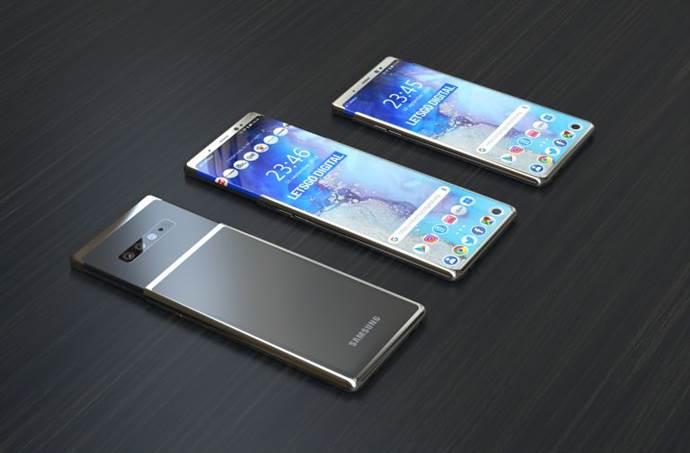 Samsung Galaxy S11 için ilginç bir patent aldı