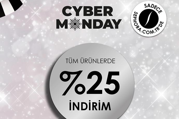 Sephora'da Cyber Monday'e özel tüm ürünlerde yüzde 25 indirim