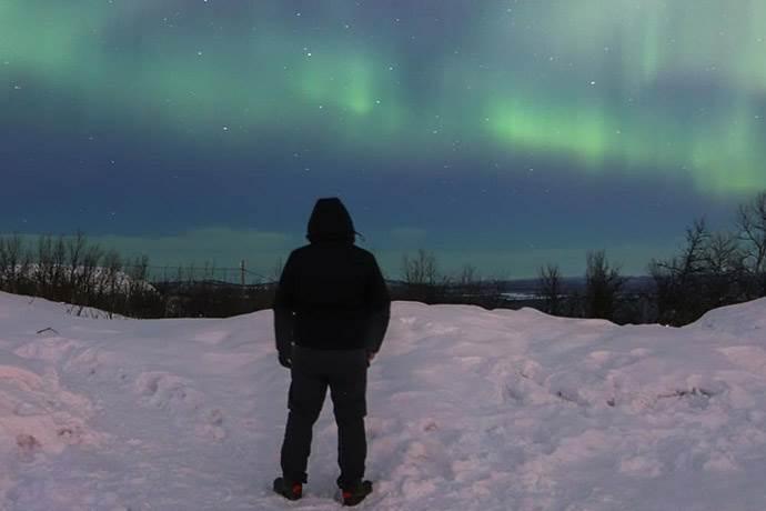 -35 Derecede Kuzey Işıklarını İzleyen Seymen Bozaslan İle Seyahat Üzerine
