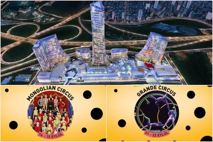 Metropol İstanbul'un açılış şenlikleri sirklerle sürüyor