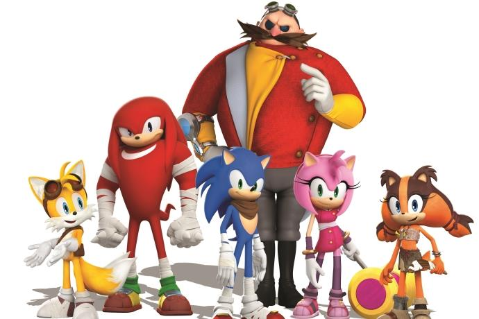 Hızlı kirpi Sonic özel şovuyla Trump AVM'de!
