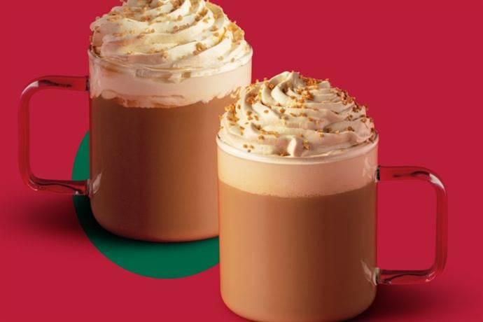 Starbucks'ın kış lezzetleri: Toffee Nut Latte ve Gingerbread Latte