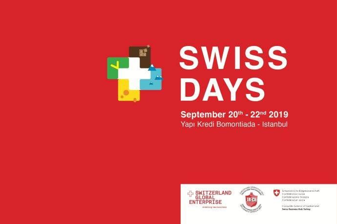 İsviçre 2019 Günleri 20-22 Eylülde Yapı Kredi bomontiada'da