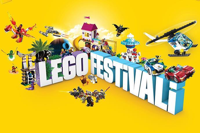 Tepe Nautilus'ta LEGO festivali