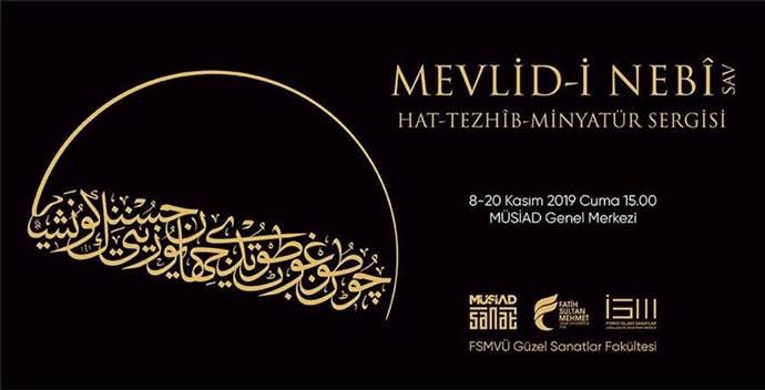 Mevlid-i Nebi Sergisi, 8 Kasım'da açılacak